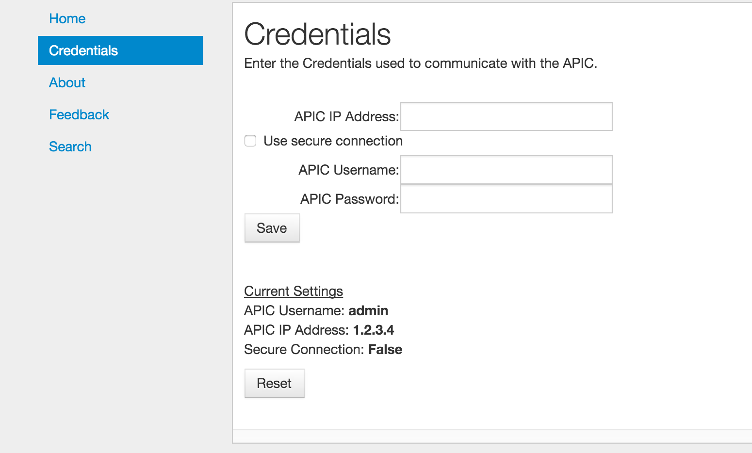 Connection Search : Configured Connection Search Tool